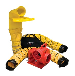 Allegro Industries 12V Axial DC Plastic Blower System with MVP A952046M