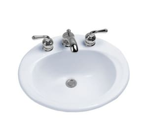 Toto USA 1-Bowl Wall Mount Lavatory Sink in Cotton TLT40101