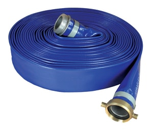 Abbott Rubber Co Inc 3 in. x 50 ft. Discharge Hose in Blue A1148300050NPSH at Pollardwater