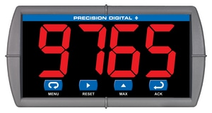 Precision Digital Corporation Trident X2 Controller with Large Display PPD7657X200