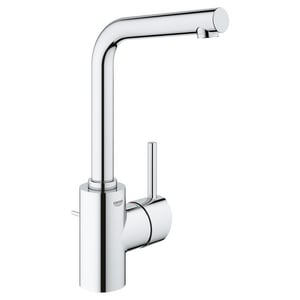 Grohe Concetto Single Handle Centerset Bathroom Sink Faucet In Starlight Chrome 23737002 Ferguson