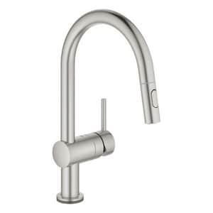GROHE Minta Single Handle Sensor Kitchen Faucet in SuperSteel Infinity™ G31359DC2