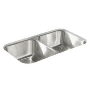 Sterling McAllister® 32x 18 x 8-1/16 in. Undermount Sink No Hole S11406NA