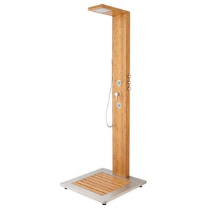 Signature Hardware Murray Four Handle Single Function Shower System in Bamboo SH417703