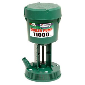 Dial Manufacturing Residential Concentric Premier Pump 115V Green D1195