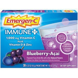 Emergen-C Acai Berry Immune Defense Drink Mix ALAEV282