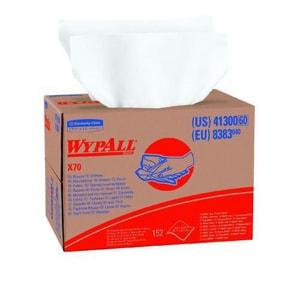 Brawny Industrial™ 12-1/2 in. Heavy Rag Wiper Pop-up in White F25081
