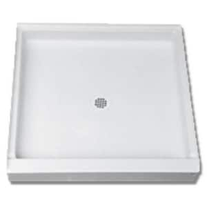 Florestone Saflor® 5-3/4 in. Shower Base in White F32322LHWH