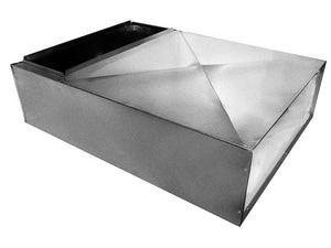 14-1/2 x 28 x 24 in. Return Air Box with 14 x 25 in. Filter Rack GRERBA