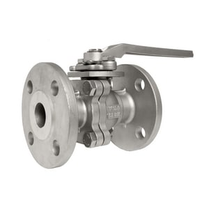 1 in. Stainless Steel Flanged 150# Ball Valve FRF153R053JGL
