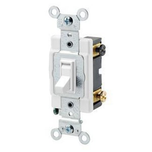 Leviton 4-Way Switch in White L545042
