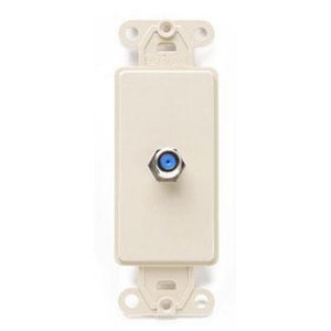 Leviton Decora® Wall Plate in Ivory L40681I
