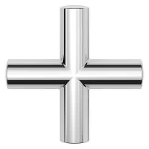 Pfister 2-5/16 in. Metal Cross Handle in Polished Chrome PHHL016TNTC