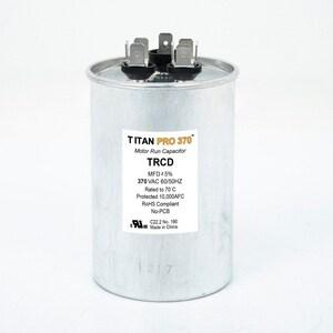 Packard Titan Pro™ 3-47/50 in. 35/5mfd 440/370V Round Run Capacitor TTRCD355