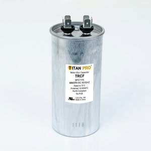Packard Titan Pro™ 55mfd 440/370V Round Run Capacitor TTRCF55
