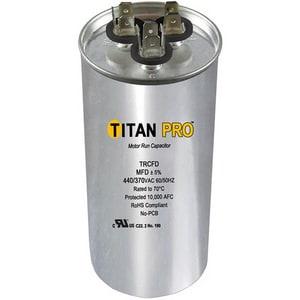 Packard Titan Pro™ 80/10mfd 440/370V Round Run Capacitor PTRCFD