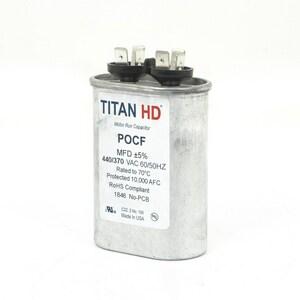 Packard Titan HD™ 20mfd 440V Oval Run Capacitor TPOCF20A