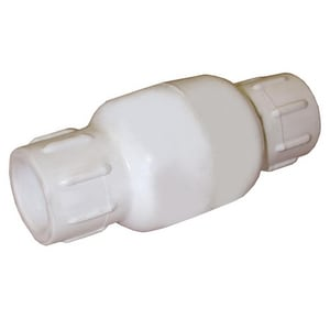 Jones Stephens PlumBest™ LTConnections™ 1 in. Solvent Weld PVC Water Service Check Valve JC30