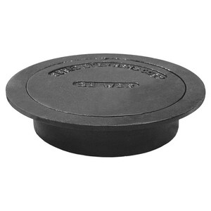 Jones Stephens 10 in. Round Sewer Box with Lid JS36010