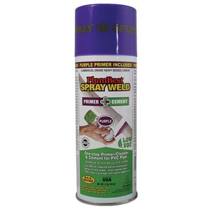 Jones Stephens 11 oz. Weld Glue Spray with Primer in Purple JS30800