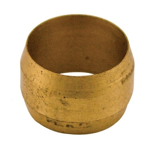 Jones Stephens Style 60 3/16 in. OD Brass Compression Sleeve JC74004