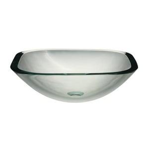 DECOLAV® Translucence™ Drop-in Vessel in Transparent Crystal D1139TTCR