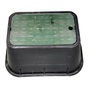 Jones Stephens 19 in. Meter Box with Lid JM06001