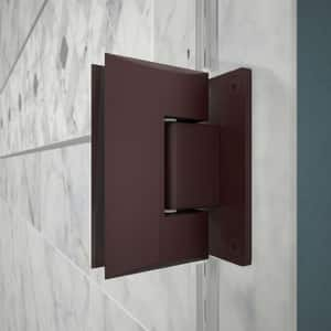 DreamLine Unidoor 60 in. Frameless Hinged Shower Door with Tempered Glass in Oil Rubbed Bronze DSHDR2059721006
