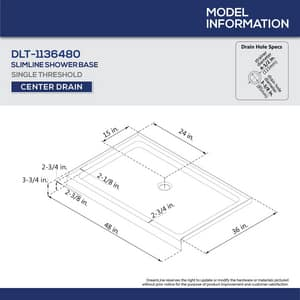 DreamLine Encore 78-3/4 x 48 in. Semi-Framed Sliding Shower Door with Base Kit in Brushed Nickel with Biscuit DDL7002C2204