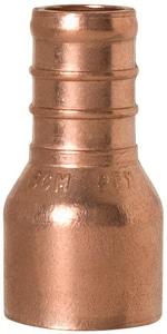 Sioux Chief PowerPEX® 3/8 x 1/2 in. Copper PEX x Female Sweat Straight Adapter S644X1