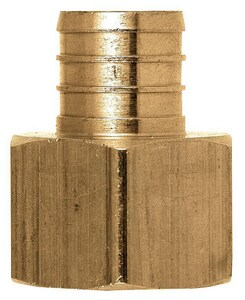 Sioux Chief 3/4 x 3/4 in. FIP x PEX Brass Adapter S647XG3
