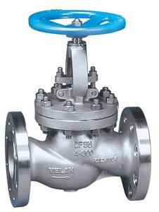 Velan Valve 2 in. Carbon Steel Flanged Standard Globe Valve VF1074C02TY