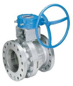 Velan Valve 4 in. Carbon Steel Full Port Flanged 150# Ball Valve VF01402SSEAP