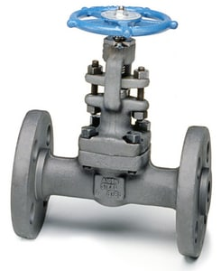 Velan Valve 1 in. Forged Steel Conventional Port Flanged Gate Valve VF0054B02TY