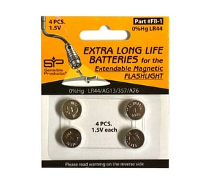 Sensible Products Repair Battery for Sensible Products EMF-1 4-Pack SENFB1