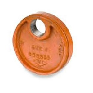 Cooplok™ 6 in. Grooved Ductile Iron Cap S65C3060