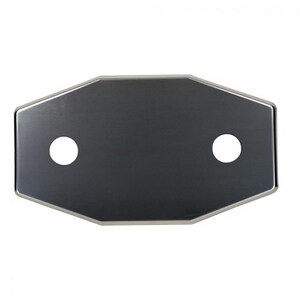 Jones Stephens 2-Hole Conversion Plate for Shower Faucet in Stainless Steel JT73816