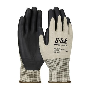 Protective Industrial Products G-Tek® M Size Neofoam™ Glove in Tan and Black (12 Pairs) P15440M