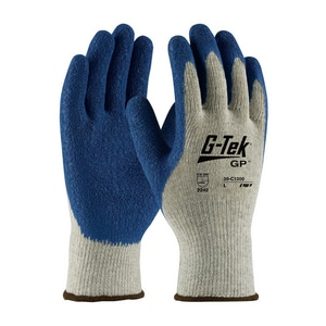 Protective Industrial Products G-Tek™ L Size Poly Cotton Glove P39C1300L