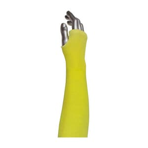 Protective Industrial Products 10-KS Series 18 in. Knitted Sleeves with Thumb Hole P10KS18TO