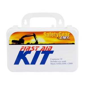 Protective Industrial Products Pip® 10 Person Plastic Contractor First Aid Kit P29913285