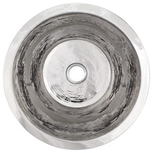 Linkasink 1-Bowl Drop-In and Undermount Service Sink in Polished Stainless Steel LC016APS
