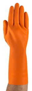 Ansell Occupational Healthcare HyFlex® 87-208 Size 8 Gloves in Orange A19208