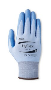 Ansell HyFlex® Size 7 Plastic Ultralight Glove in Blue A2351