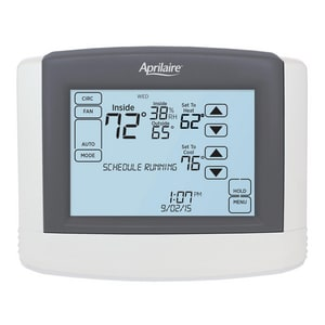 Aprilaire 8600 Series Programmable Touch Screen Thermostat RES8600