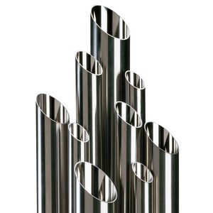 Topline Process Equipment 2-1/2 x 0.065 in. x 20 ft. 16 ga 316L Stainless Steel Tube TDST6LL