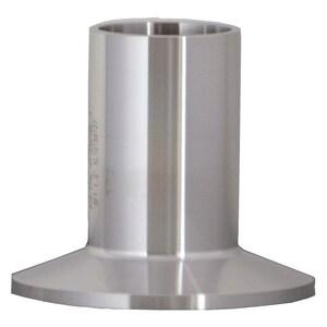 Topline Process Equipment 1 in. Butt Weld Stainless Steel Ferrule TTL14AM76G