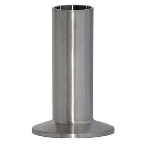 Topline Process Equipment 14WLMP 1 in. Clamp x Weld Long 316L Stainless Steel Ferrule T14WLMP6