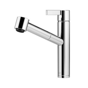Dornbracht USA Eno Collection Single Handle Pull Out Kitchen Faucet in Polished Chrome D33875760000010
