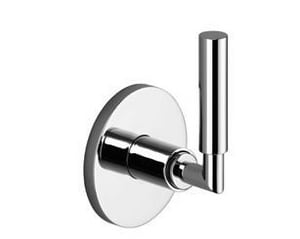 Dornbracht USA Tara 2-Way Open Right and 3-Way Wall Mount Diverter Trim in Polished Chrome D3610488200